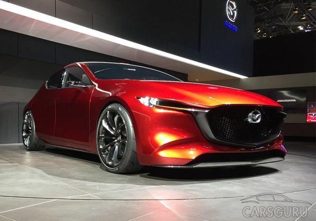 Будущее Mazda 3 воплотили в прототипе Kai