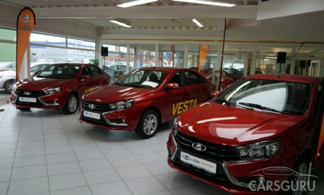 Продажи моделей Лада в Евросоюзе увеличились на 25%