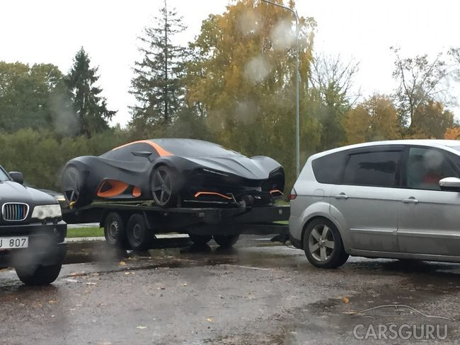 Был замечен украинский суперкар Himera Q. Фото