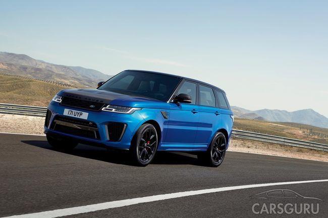 Обновлена вся серия моделей Range Rover Sport