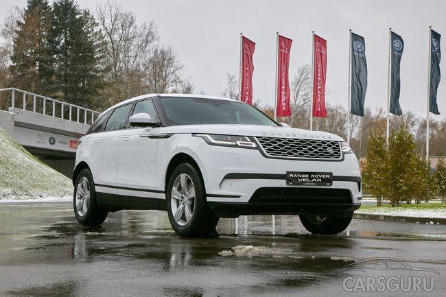 Четвертый представитель семейства Jaguar Range Rover: внедорожник Velar