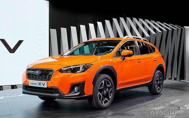 Начинаются продажи нового Subaru XV на рынке России