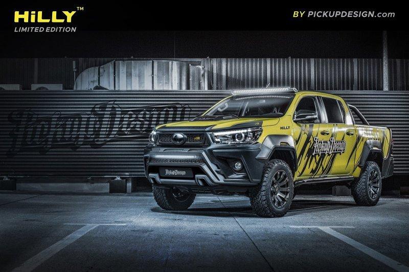 Toyota Hilux – первый опыт нового подразделения Carlex Design