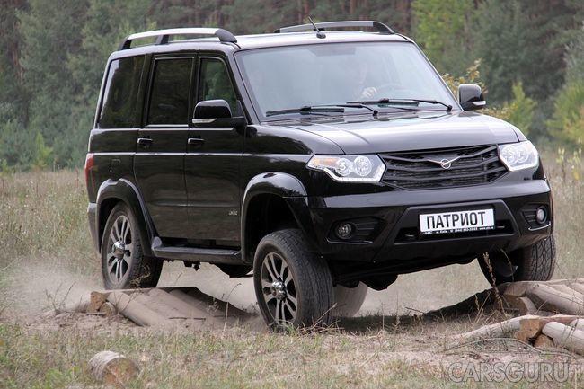 В сентябре отечественный УАЗ Патриот внесли в ТОП-10 российских бестселлеров
