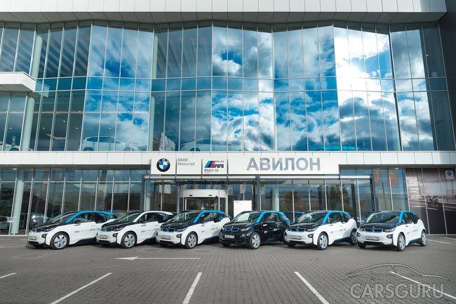 АВИЛОН выдал первые электрокары московскому каршерингу YOU drive.