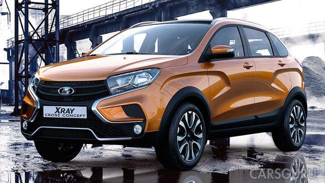 Россияне приобрели рекордное количество моделей LADA XRAY