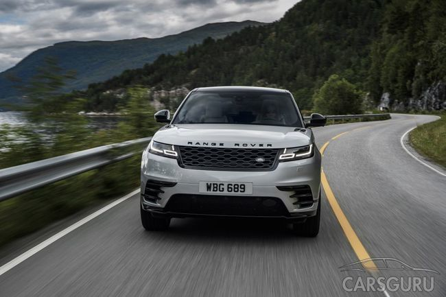 Новинка на рынке России: среднеразмерный Range Rover Velar