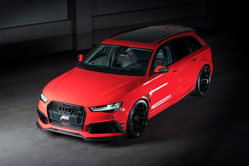 Audi RS6+ в тюнинге ABT Sportsline » Автомобили и тюнинг