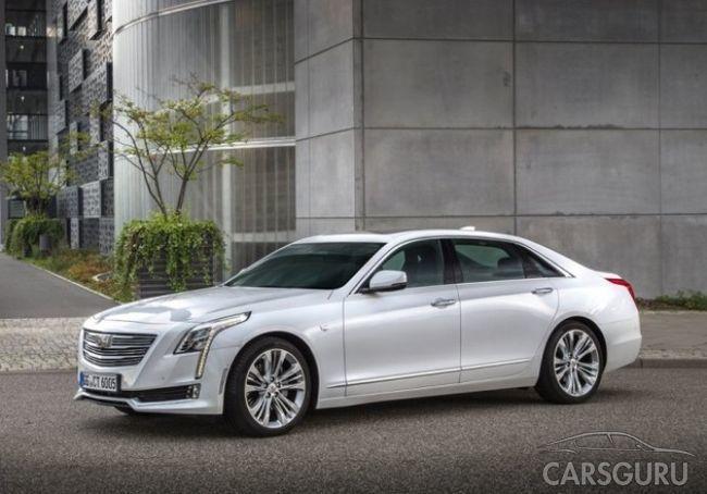 Стали известны новые данные о Cadillac CT6