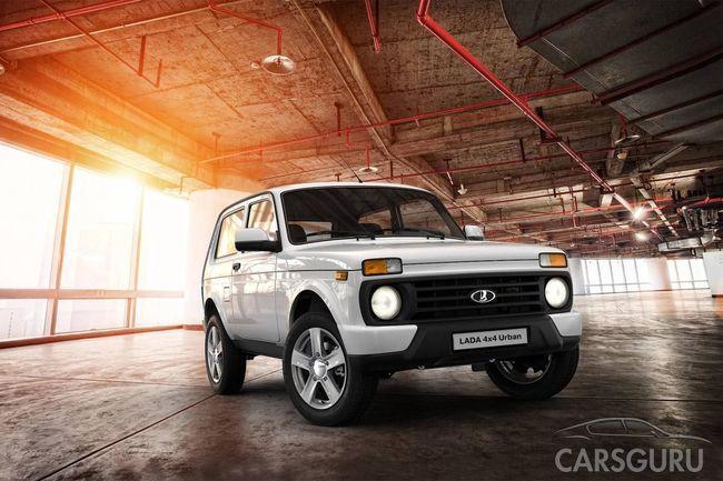 Lada 4×4 в ТОП-5 самых продаваемых кроссоверов страны