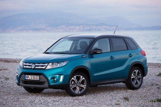 Специальные предложения на модели Suzuki SX4 и Vitara в октябре