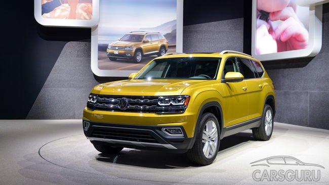 Volkswagen Teramont приедет на российский рынок к весне 2018 года
