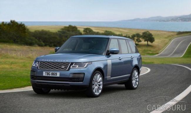 Раскрыта цена обновленного Range Rover