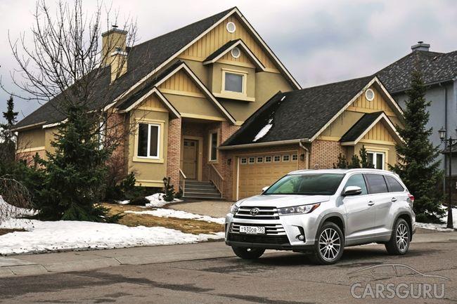 Новая доступная версия Toyota Highlander в России