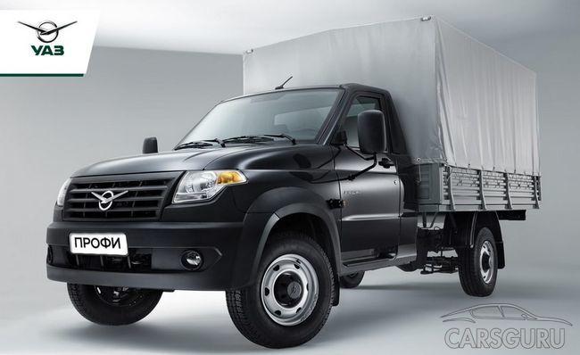 На российском рынке началась реализация нового УАЗ Профи