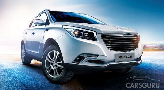Вскоре в России появится Hawtai Laville: китайская копия Hyundai ix35