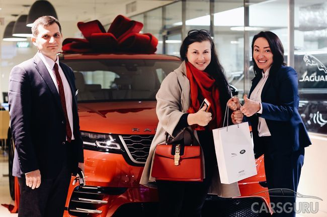 Продажи Range Rover Velar стартовали АВИЛОНе.