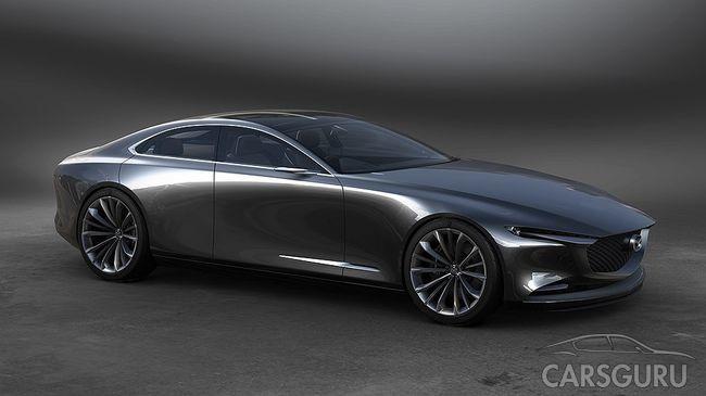 Состоялся дебют прототипа Mazda Vision Coupe