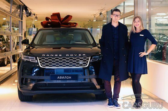 Продажи Range Rover Velar стартовали в АВИЛОНе