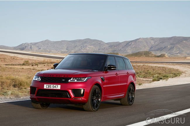 Новые цены на рестайлинговый Range Rover Sport в России