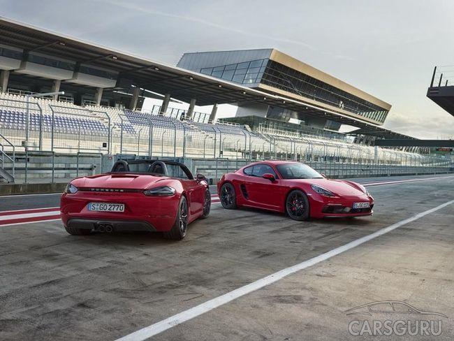 Porsche 718 GTS доступны к передзаказу на российском рынке
