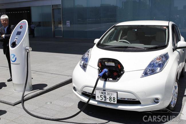 Власти России вводят материальную поддержку покупателей электромобилей