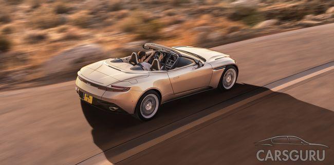 Aston Martin DB11 Volante: возвращение бескомпромиссного кабриолета Sports GT
