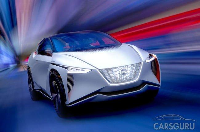 Прототип Nissan IMx представили на автомобильной выставке в Токио