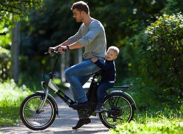 Электровелосипед стал доступным транспортом.