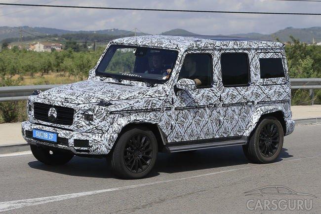 Вскоре Mercedes-Benz представит миру новый Gelandewagen