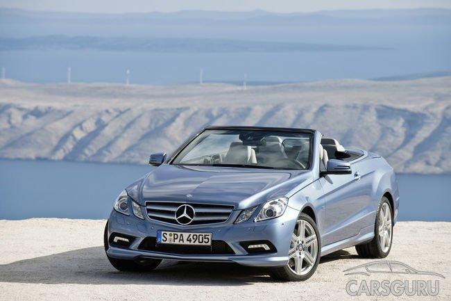 Оглашены цены на кабриолет Mercedes-Benz E-Class новой генерации