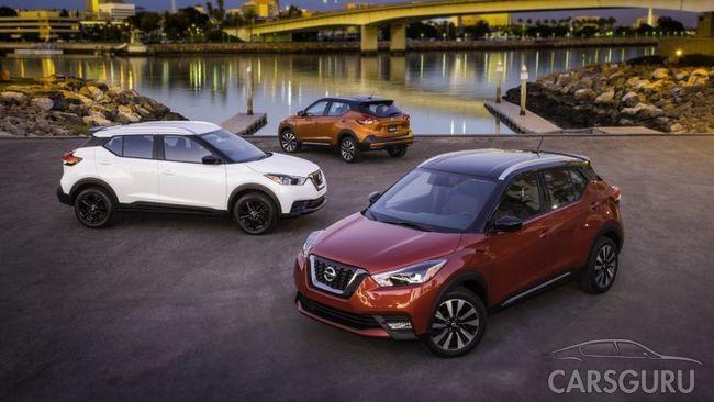 Кроссовер Nissan Kicks теперь и в Америке, дождемся ли в России?
