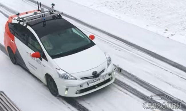 Яндекс протестировал свой беспилотник для службы в Яндекс.Такси на снежных дорогах. Видео