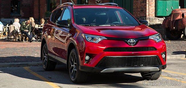 Toyota представила обновлений внедорожник RAV4