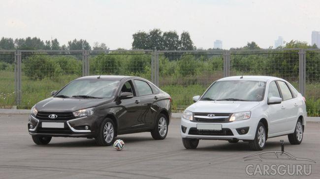 В ТОП-80 самых продаваемых авто в Европе вошли две модели Лада