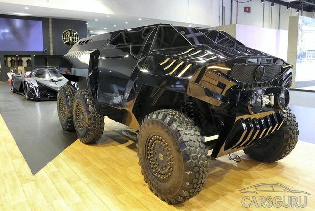 Дубайские монстры! Безумные авто на шоу
