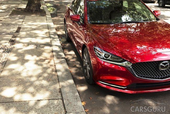 Рестайлинговая Mazda 6 получит турбодвигатель