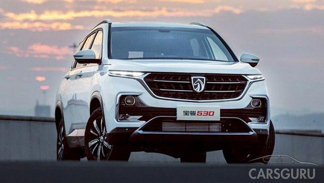 Состоялся дебют нового семиместного паркетника Baojun 530 от General Motors и SAIC