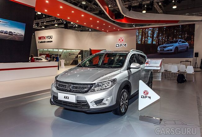 На рынке России в следующем году появится новый DFM AX3