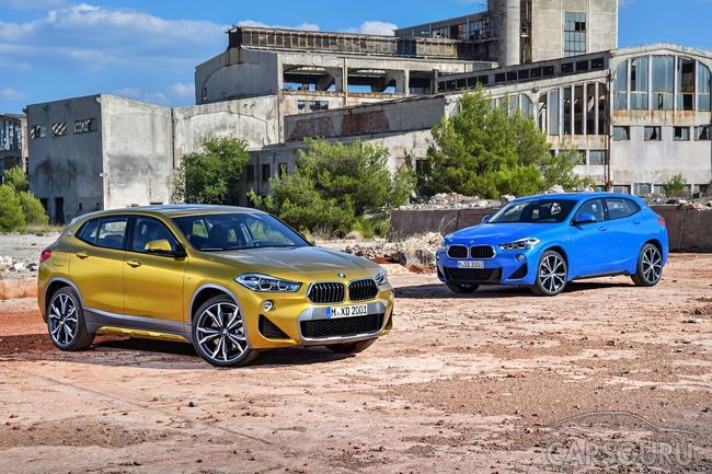 BMW Group Россия объявляет цены на новый BMW X2.