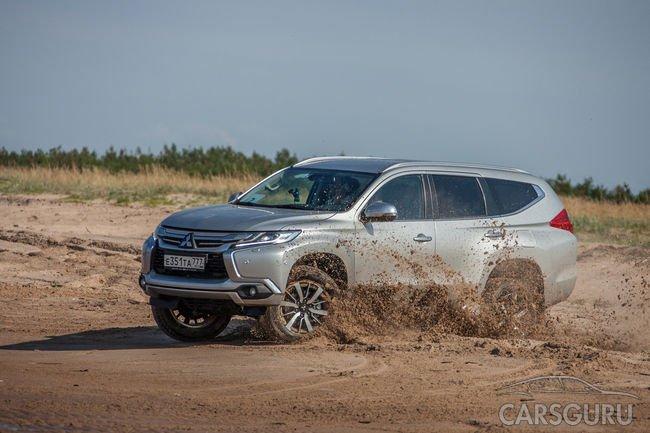 В автосалонах России доступна спецверсия Mitsubishi Pajero Sport с улучшенным салоном
