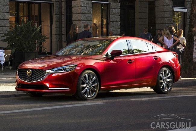Состоялась презентация рестайлинговой Mazda 6 с тубродвигателем
