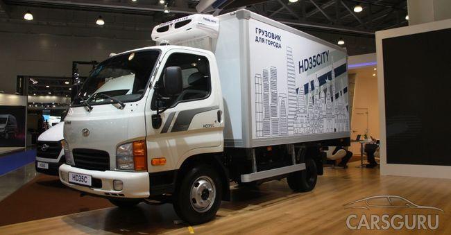 Стартовали продажи Hyundai HD35 City на российском рынке