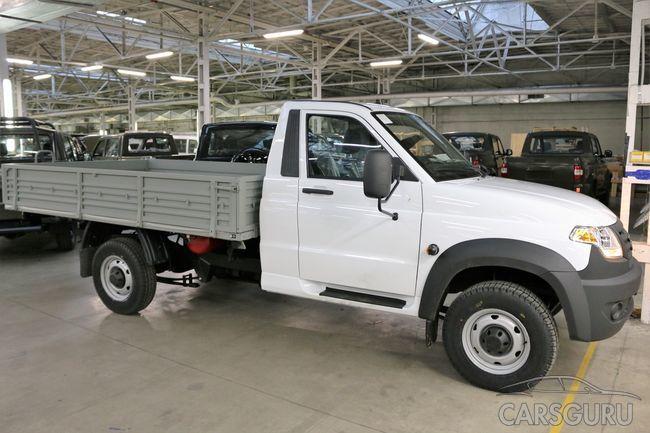 Новая версия УАЗ Профи с газовой установкой