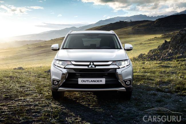 Новые комплектации и системы для обновленного Mitsubishi Outlander в России