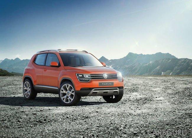 Volkswagen готовит новые паркетники для российского рынка