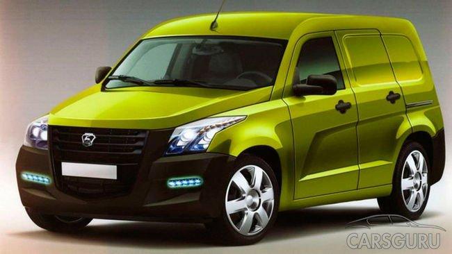 Рассекречено изображение будущего фургона от ГАЗ NEXT
