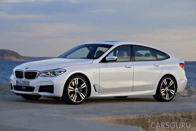 Началась реализация нового BMW 6 серии GT в России