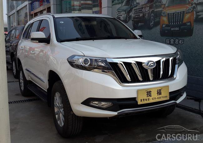 На китайском рынке появилась копия Toyota Land Cruiser Prado