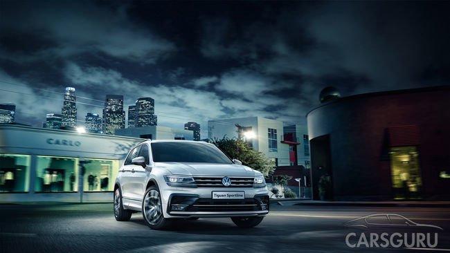 Volkswagen предлагает для заказа новую модификацию Tiguan Sportline
